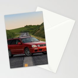 Nissan Stagea Stationery Cards