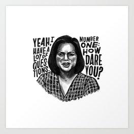 Kelly | Office Art Print