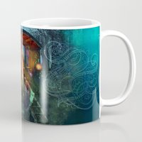 firefly Mugs featuring Gypsy Firefly by Aimee Stewart