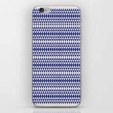 Blue Folk Art iPhone & iPod Skin