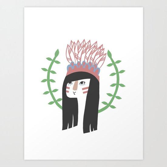 Wingapo Art Print