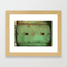 peas. Framed Art Print
