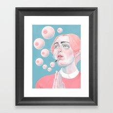 When You Get High Framed Art Print