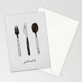 Just Eat It, Music Quote Stationery Cards