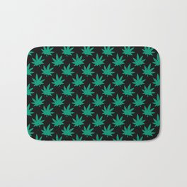 Weed Pattern 420 Bath Mat