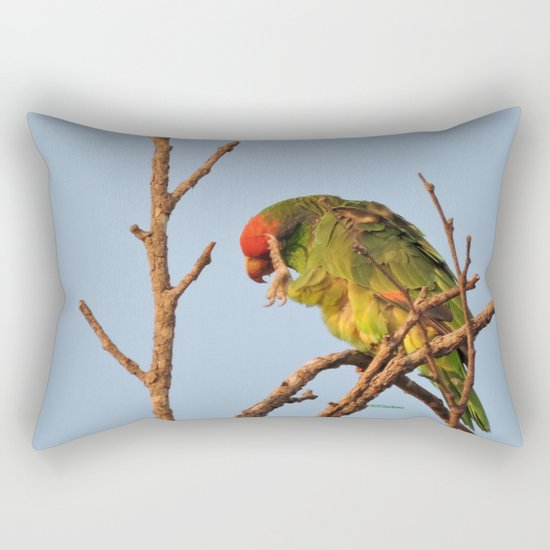 Now, Let Me Think Rectangular Pillow