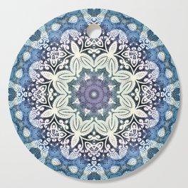 winter  Mandala Cutting Board