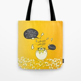 #Hatched Tote Bag