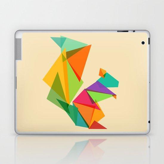 Fractal geometric Squirrel Laptop & iPad Skin