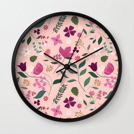 Dream of Autumn Wall Clock