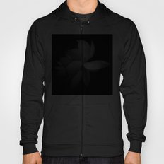 Black & While Lotus Hoody