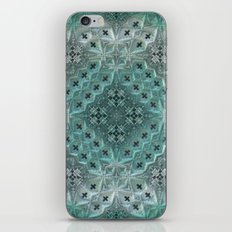 Mint Lace iPhone & iPod Skin