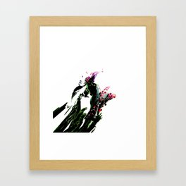 Breaking Exploit Framed Art Print