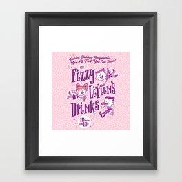 fizzy lifting Framed Art Print