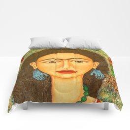 My homage to Frida Comforters
