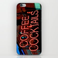Coffee Cocktails iPhone & iPod Skin