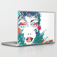 make up Laptop & iPad Skins featuring Make Up by Irmak Akcadogan