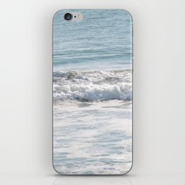 TEXTURES -- Surf   at San Clemente iPhone Skin