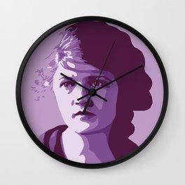 Zelda Fitzgerald Wall Clock