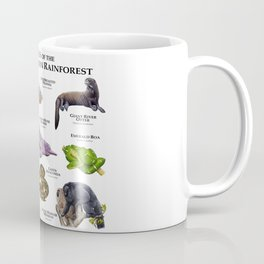 Animals of the Flooded Amazon Rainforest Coffee Mug