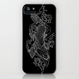 Koi Fish 1 iPhone Case