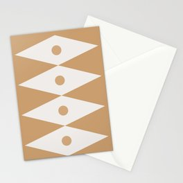 Abstraction_SUN_TRIANGLE_HOME_PATTERN_POP_ART_0399S Stationery Cards