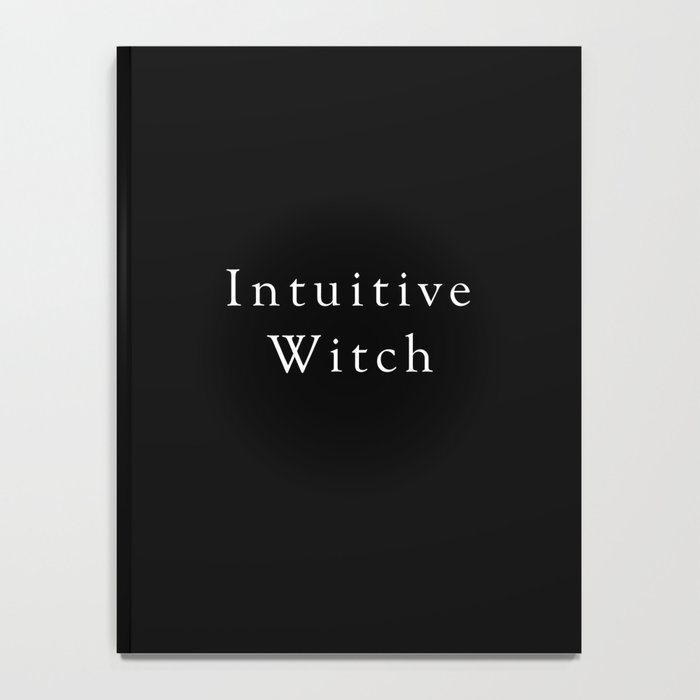 Intuitive Witch Notebook