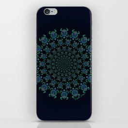Tribal Turtle Tunnel iPhone Skin