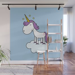 Adorable unicorn Wall Mural