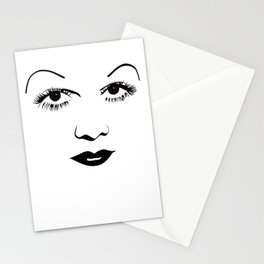 Old Hollywood - Jean Harlow Stationery Cards