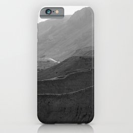 Road between the Mountains and Valley iPhone Case