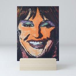 CJ acrylic on canvas painting Mini Art Print