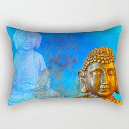 Buddha's Thoughts Rectangular Pillow