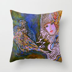 RAVENS Throw Pillow