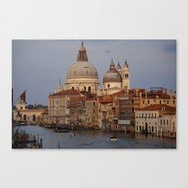 Venice from il Ponte dell'Accademia Canvas Print