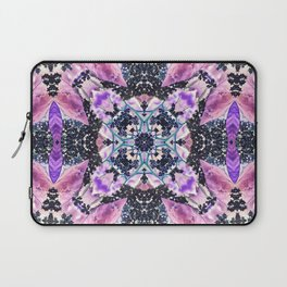 Kaleidoscope of night flowers Laptop Sleeve