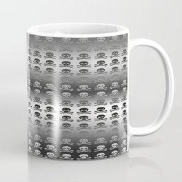 Skull and XBones - Smaller: Metal and Slight Pink Coffee Mug