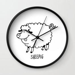 SHEEPIG Wall Clock