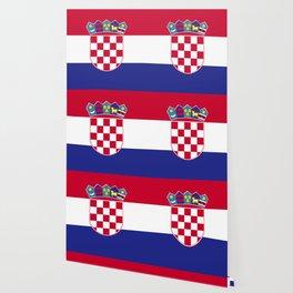 Croatia flag emblem Wallpaper