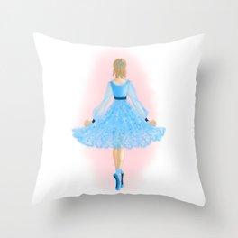 Miss Darling Throw Pillow