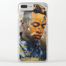 """""""Lost in Translation"""" Clear iPhone Case"""