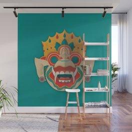 Paper Mask - Hanuman Wall Mural