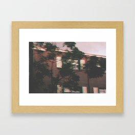 Blur Sweet Blur Framed Art Print