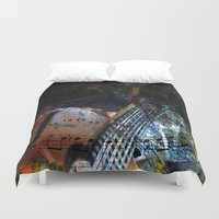 blues Duvet Covers featuring Blues by  Agostino Lo Coco