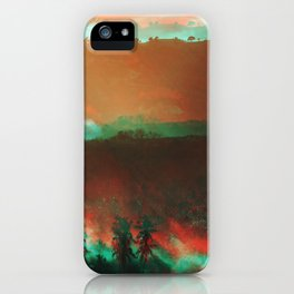 Lombok mornings iPhone Case