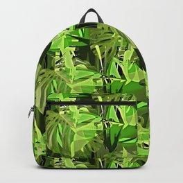 Tropical Greens Backpack