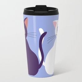 Luna & Artemis - Blue Travel Mug