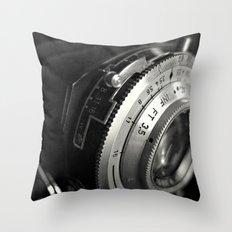 fstop Throw Pillow