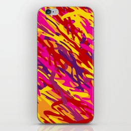 Bright Camouflage iPhone Skin