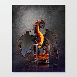 Rum Dragon Canvas Print